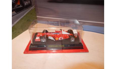 F1 Болид Формулы 1 - Ferrari F2002 - Michael Schumacher, масштабная модель, Altaya, scale43