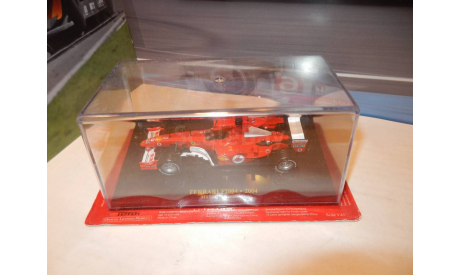 F1 Болид Формулы 1 - Ferrari F2004 - Michael Schumacher, масштабная модель, Altaya, 1:43, 1/43