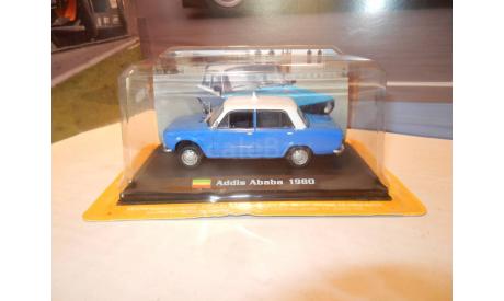 ВАЗ-2101 LADA 1200 TAXI Addis Ababa, журнальная серия масштабных моделей, Amercom, 1:43, 1/43