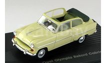 Opel Olympia Rekord Convertible, масштабная модель, scale43