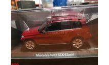 Mercedes GLK-Class red Limited 1000pcs, масштабная модель, Schuco, scale43, Mercedes-Benz