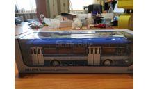 Ликинский автобус 677М безопасность движения  автобус, масштабная модель, scale43