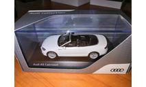 Audi A5 Cabriolet (white), масштабная модель, scale43