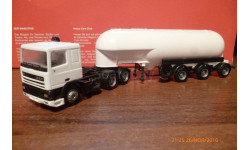 HERPA---DAF 95 низкая кабина цементовоз  1:87