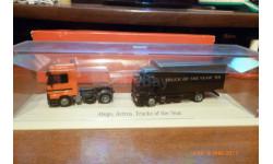HERPA---НАБОР-MB ACTROS LH02 и MB ATEGO грузовики 1999г.  1:87