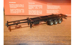 HERPA---П/прицеп скилет контейнеровоз 1:87