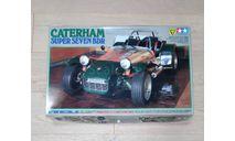 Caterham Super Seven BDR 1/12 kit by Tamiya, сборная модель автомобиля, scale12