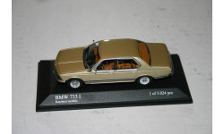 Bmw 7 series 733i Limousine E23 Minichamps Gold 1977 БМВ