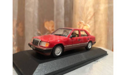 Mercedes Benz 260 E class W124 1:43 Minichamps Red Мерседес Миничампс 3203