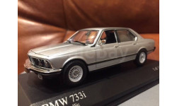 BMW 733i 7-series E23 Silver Minichamps Limited Edition