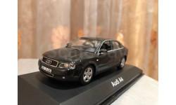 Audi A4 B6 1:43 Minichamps Black Ауди Миничампс