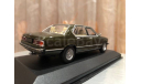 Bmw 7 series 733i Limousine E23 Minichamps Green 1977 БМВ Семерка, масштабная модель, 1:43, 1/43