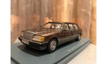 Mercedes Benz 250 E class Lang W124 1:43 NEO Brown Мерседес Лонг Нео, масштабная модель, 1/43, Neo Scale Models, Mercedes-Benz