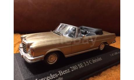 Mercedes-Benz W111 280 SE 3.5 1:43 Minichamps, масштабная модель, 1/43