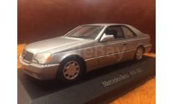 Мерседес Mercedes Benz 600 SEC W140 Coupe 1:43 Minichamps
