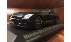 Мерседес Mercedes Benz SLS AMG W197 1:43 Minichamps