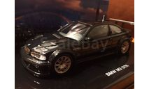 BMW M3 GTR E46 1:43 Minichamps Flawors of Asia Limited Black Metallic, масштабная модель, 1/43