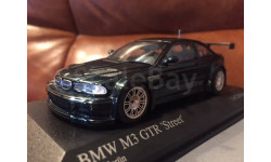 BMW 3 series M3 GTR Street Coupe E46 Minichamps