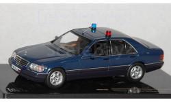 Мерседес Mercedes-Benz S 600 W140 Кортеж ГОН 1:43 iXO