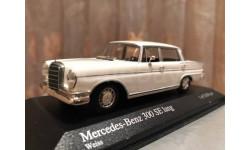 Mercedes Benz 300 SE Lang W111 1:43 Minichamps Мерседес Миничампс