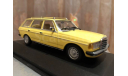 ​Mercedes Benz E class 200 TE T-modell W123 Minichamps S123 Break, масштабная модель, 1:43, 1/43, Mercedes-Benz