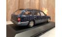 Mercedes Benz E class 200 T-modell W124 S124 Minichamps Blue Мерседес, масштабная модель, 1:43, 1/43, Mercedes-Benz