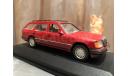 Mercedes Benz E class 250 T-modell W124 S124 Minichamps Red Мерседес, масштабная модель, 1:43, 1/43, Mercedes-Benz