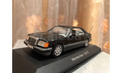 Mercedes Benz E class 320 CE-24 Coupe W124 Minichamps Black Мерседес Миничампс