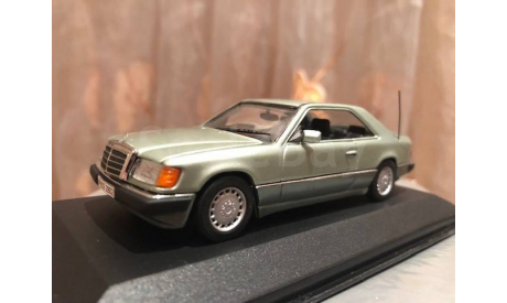 Mercedes Benz E class 320 CE-24 Coupe S W124 Minichamps Мерседес, масштабная модель, 1:43, 1/43, Mercedes-Benz