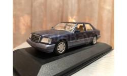 Mercedes Benz E class 220 Limousine W124 Minichamps NT Blue Мерседес Миничампс
