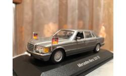 Mercedes Benz S class 560 SEL Limousine W126 Minichamps Мерседес Миничампс