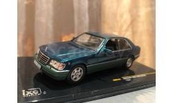 Mercedes Benz 600 SEL W140 1:43 iXO Green Мерседес Иксо