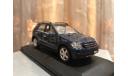 Mercedes Benz ML class ML350 W164 Minichamps Blue Мерседес Миничампс, масштабная модель, 1:43, 1/43, Mercedes-Benz