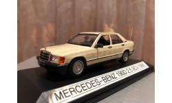 Mercedes Benz С 190 E W201 Limousine 1:43 Minichamps Мерседес Миничампс