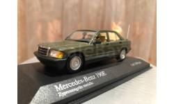 Mercedes Benz 190 E W201 1984 Minichamps 1:43 Мерседес Миничампс