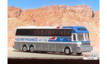 Road Champs 1:87 HO -- автобус Eagle model 15 Greyhound, масштабная модель, MAN, 1/87