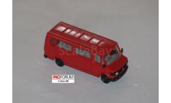 Herpa 1:87 HO -- автобус Mercedes-Benz 210D, масштабная модель, scale87