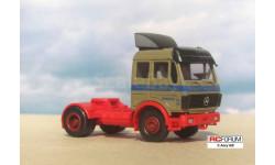 Herpa 1:87 HO -- Mercedes-Benz NG, масштабная модель, scale87