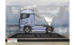 Herpa 1:87 HO -- тягач Scania S730A 4x2, масштабная модель, 1/87