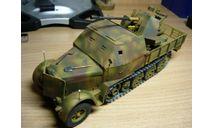 37мм ЗСУ Flak 36 на базе 8т. тягача Sd.Kfz 7/2, сборные модели бронетехники, танков, бтт, Dragon, 1:35, 1/35