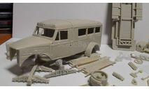 ГАЗ-653 (На базе ГАЗ-51) СКОРАЯ ПОМОЩЬ (образца 1953 г.), сборная модель автомобиля, Конверсии мастеров-одиночек, scale43