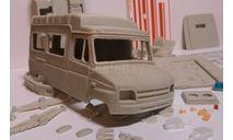 ЗИЛ-32502М - РЕАНИМАЦИЯ СМП, сборная модель автомобиля, Конверсии мастеров-одиночек, scale43