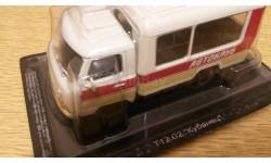 Уаз 452 Кубанец. Автоклуб.   АНС., масштабная модель, Автомобиль на службе, журнал от Deagostini, scale43