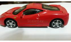 Ferari 458 Italia, масштабная модель, Bburago, scale43, Ferrari