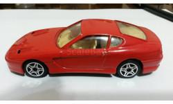 Ferari 456 GTmade in Italia., масштабная модель, Bburago, scale43, Ferrari
