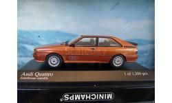 1/43 Minichamps Audi Quattro 1981 1 of 1200