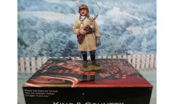 King & Country WWII Russian Ost-front Red Army Winter Tanker with PPSH RA29, фигурка, 1:32, 1/32