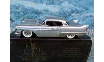 1/43   Brooklin models BRK.27 1957 CADILLAC Eldorado Brougham white metal, масштабная модель, scale43
