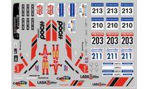 Декаль. Lada Poch Спорт, фототравление, декали, краски, материалы, scale43, maksiprof, ВАЗ