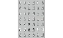 Декаль Наклейки для грузовиков 'Девушки' (100х140), фототравление, декали, краски, материалы, maksiprof, scale43